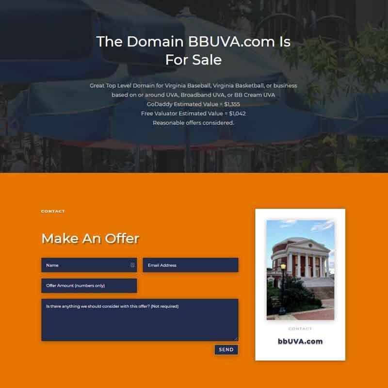 bbUVA.com for sale