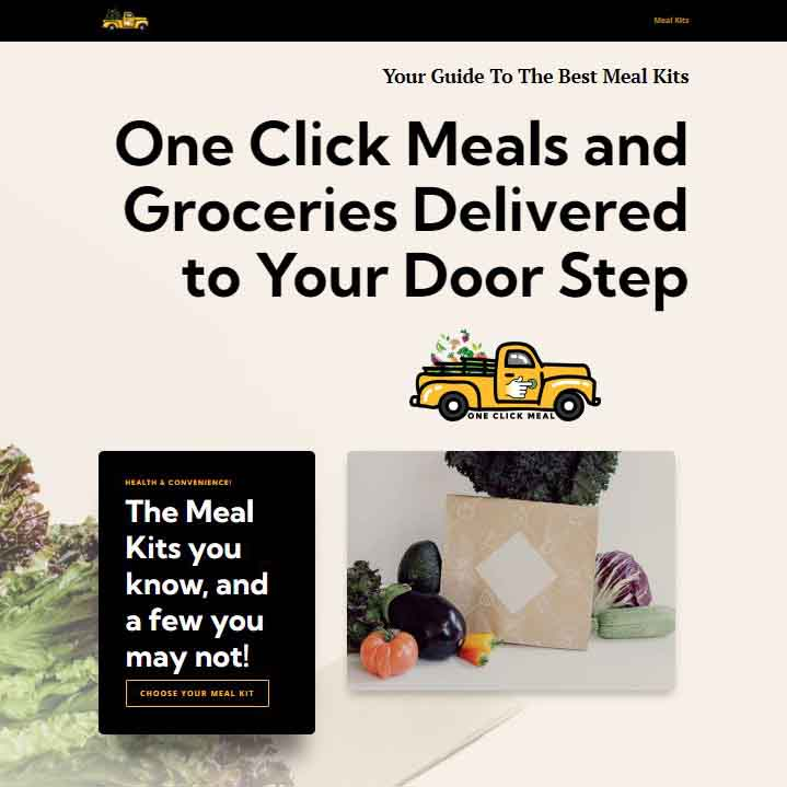 One Click Meal